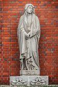 Virgin Mary's statue at Urakami Cathedral in Nagasaki