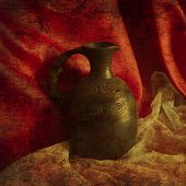 Still life with a jug in the old Armenian style