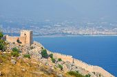 View From The Inner Castle (ic Kale), Alanya, Turkey