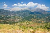 Angle view of Taurus Mountains