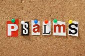 The word Psalms