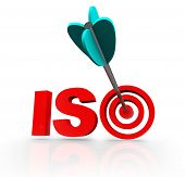 ISO Word Acronym Standard Certification Meeting Compliance