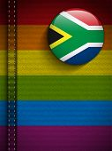 Gay Flag Button On Jeans Fabric Texture South Africa