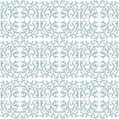 Elegant lace pattern with grey shapes on white