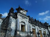 Tomb of Khai Dinh Hue Vietnam. UNESCO World Heritage Site.