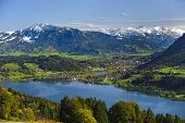 panorama rural landscape in Bavaria