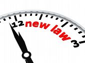 New law clock
