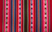 Red bolivian pattern