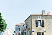 Quaint Village In The European Countryside