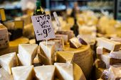 Cheese Market In Israel.