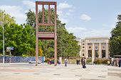 Geneva. Square Of Nations