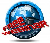 Free Webinar Icon Web-based Seminar
