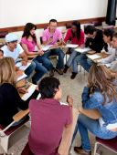 Students On The Classroom