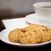 Tea Time With Cookies