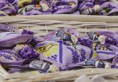 Avignon Souvenirs- Little Sacks With Lavender And Cicadas