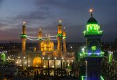 The shrine of Imam Moussa al Kadhim   And his grandson Mohammed al Jawad