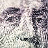 The Face Of Franklin The Dollar Bill Macro