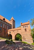 Marienwerder Castle (1350) Of Teutonic Order. Kwidzyn, Poland