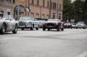 vintage car mille miglia 2014