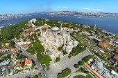 stock photo of constantinople  - Aerial Turkey Views - JPG