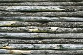 Wooden slats background