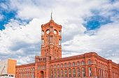 Berlin city hall, (rathaus), Alexanderplatz, Germany