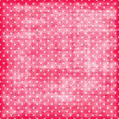 Постер, плакат: Розовый и белый горошек