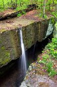 Crevice Waterfall