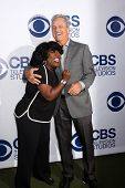 LOS ANGELES - MAY 19:  Sheryl Underwood, Gregory Harrison at the CBS Summer Soiree at London Hotel o