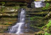 Waterfalls At Old Man's Cave
