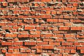 Rugged Brick Wall