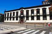 FUNCHAL - APRIL 26,2014: Funchal Town Hall during the Madeira Film Festival 2014, Madeira