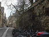 Old streets of Oxford, UK