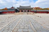 Traditional Architecture in Changgyeonggung Palace; Seoul, South Korea