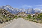 Approaching Mount Whitney, Sierra Nevada Mountains, California