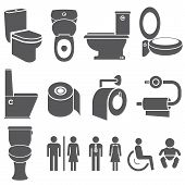 toilet and wc