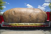 The World's Largest Potato on Wheels presented during The Famous Idaho Potato Tour