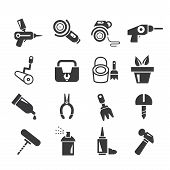 handy tools icons
