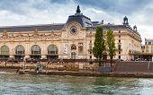 Paris, France, Facade Of The Orsay Modern Art Museum