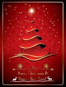 Christmas greeting card for companies