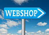 webshop road sign buy or sell online at web shop or internet store web shop shopping