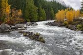 Whitewater On The Wenatchee River.