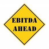 Ebitda Ahead Sign