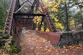 Tumwater Canyon Bridge Path.