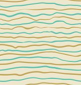Seamless blue and yellow striped pattern background