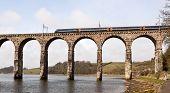 Railway Viaduct in Berwick Upon Tweed