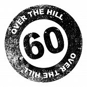 Over The Hill 60 Stamp