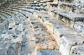 Steps of an ancient amphi theatre
