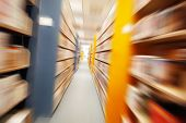Library Motion blur