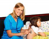 Pediatrician Examining